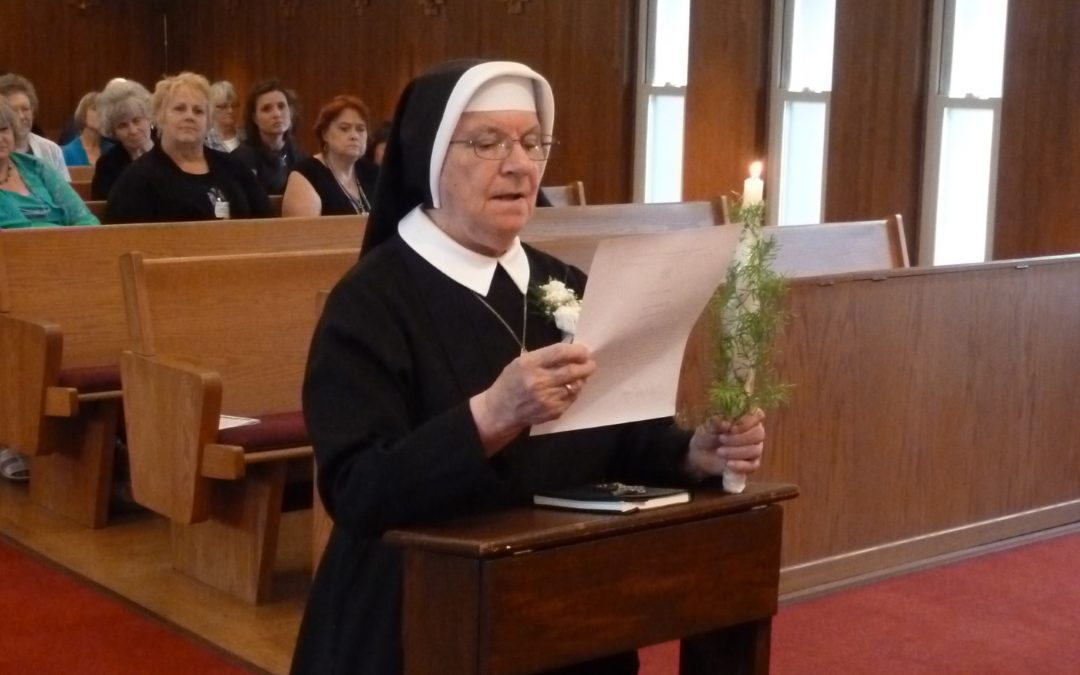 Celebrating Sister Olga's 70th Anniversary of Her Vow in 2014